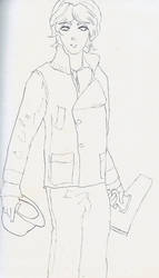 Inked Manga Bishounen by yatoujisatsukix