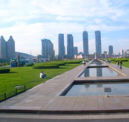 Dalian City Scenery by yatoujisatsukix