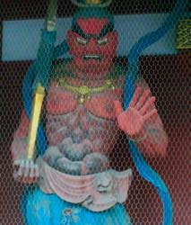 Temple Guardian by yatoujisatsukix