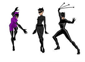 3 Levels Catwoman by March90