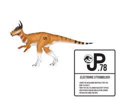 Warpath Jurassic Park Stygimoloch Action Figure by March90
