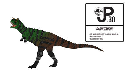 The Lost World Carnotaurus Action Figure by March90
