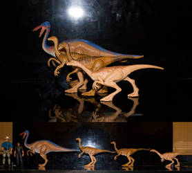 Gallimimus Action Figures by March90