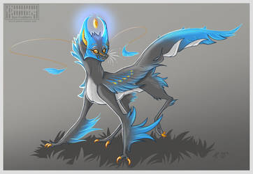 Glow critter- Adoptable by Key-Feathers