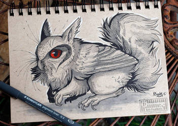 Inktober 5 by Key-Feathers