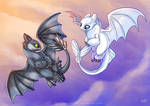 HTTYD: Flying high by Key-Feathers