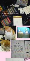 Copic Marker tutorial by Shunshuu-Tsunami