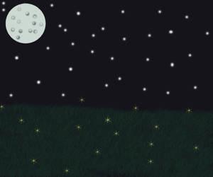 Night Sky by Strayokami