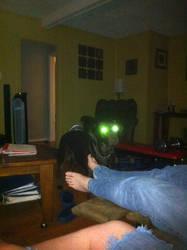 Alien dog by Strayokami