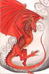 The Red Flyer By Crazywolfs-d7dn9oq by Strayokami