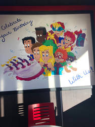 burger king birthday poster again! by 25ederri