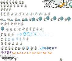 Silver Sprite Sheet :UPDATED: by LucarioShirona
