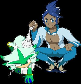 Pokeson - Marlon and Dabrina by LucarioShirona