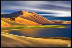 Tsomoriri Lake,Ladakh by Khushiart