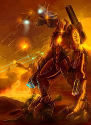 Dark Tau Commander by Revan163