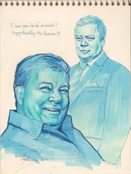 Mr.Shatner by Emushi