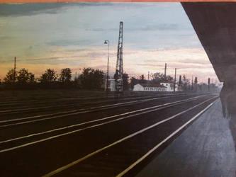 the train station by KatriLaiho