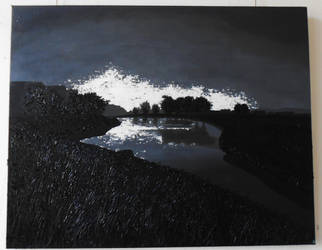 scenery of midnight shadows by KatriLaiho