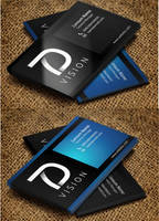2 Side Business Card by ahsanpervaiz