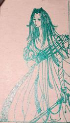 Sephiroth (in green metallic) by Volatilite