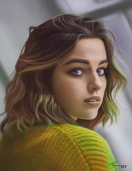 Portrait Practice #5 by Blue-Nite