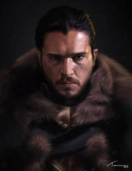 Jon Snow by Blue-Nite