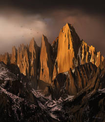 Mount Whitney by Blue-Nite