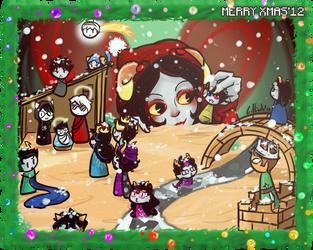 Merry Xmas'12 by Erina-chan