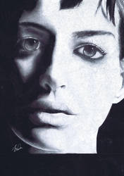 Anne Hathaway by S2olen