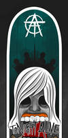 Tonight Alive Sk8Board by B-boyAlfelor