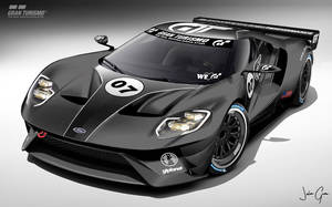 Ford GT LM spec III test car pic 1 by girabyte225-jc-lover