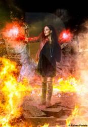 Scarlet Witch by RaissaPortela