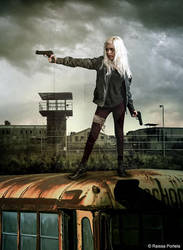 The Walking Dead by RaissaPortela