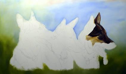 Painting in progress. by RaissaPortela