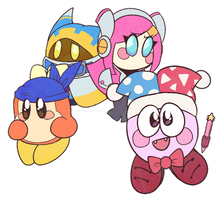 Doki Doki Star Allies! by brie-tea