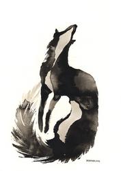 Ink Fox by Myrntai