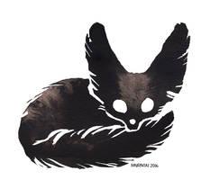 Ink Fennec Fox 02 by Myrntai