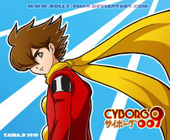 Cyborg 009 by Rolly-Chan
