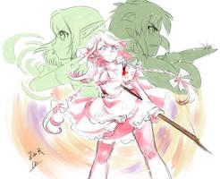 Batalla en Morla by Rolly-Chan