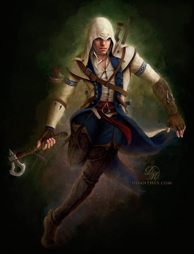 Connor Kenway - Assassin's Creed 3 by Celtran