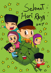 Hari Raya 2017 by richard-chin