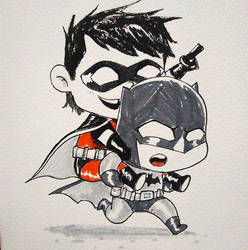Batman And Robin by richard-chin