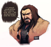a quick thorin oakenshield. by curseoftheradio
