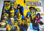 INVINCIBLE blank cover sketch. by curseoftheradio