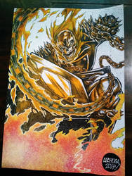 GHOST RIDER commission. by curseoftheradio