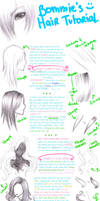 Tutorial: Draw Hair : VER. 2.0 by bommie