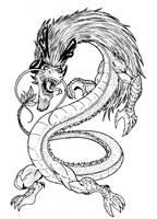 The Chaos Dragon by AJ-aka-Bushiryu