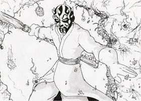 Darth Maul by AJ-aka-Bushiryu