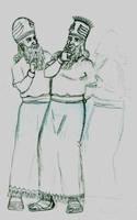 Enlil, Anu and ... Ea? by Spinnradler
