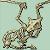 Aerodactyl skeleton by ProfBlackthorn